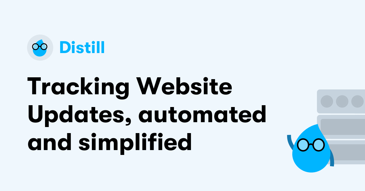 Web Monitor - Apps to track webpages and feeds for changes  | Distill io